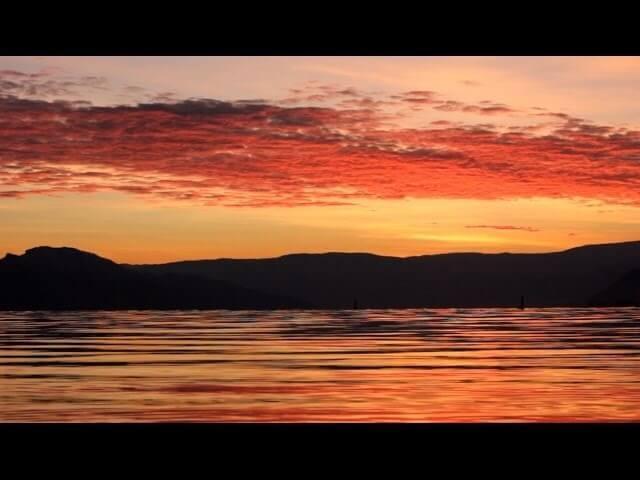 Sunset At Rotary Beach